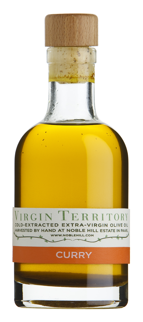 Virgin Territory olive oil curry